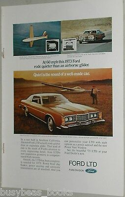1973 Ford ad, Ford LTD 2-door Brougham