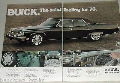 1973 Buick Electra 2-page ad, Buick Electra 225 Limited