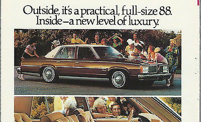 1979 OLDSMOBILE DELTA 88 advertisement, OLDS ad, Delta Eighty Eight Royal