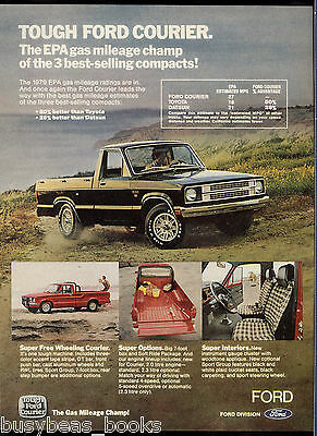 1979 FORD COURIER advertisement, Ford Courier pickup truck