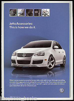 2006 VOLKSWAGEN JETTA advertisement, VW Jetta sedan