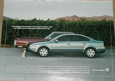 2002 Volkswagen Passat advertisement, VW Passat Sedan