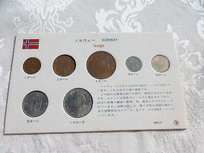 Terrific Coin Set From Norway