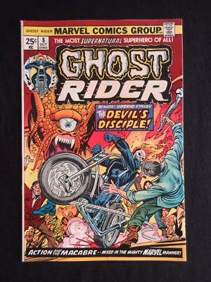 Ghost Rider #8 MARVEL 1974 - NEAR MINT 9.6 NM - Jim Mooney, Stan Lee!!!!!