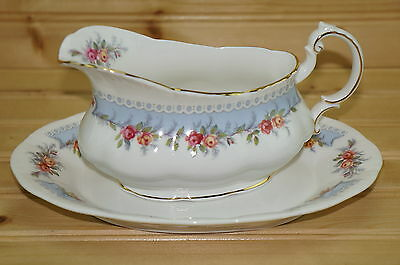 Paragon Bridesmaid Gravy Boat and Underplate (Relish Dish)
