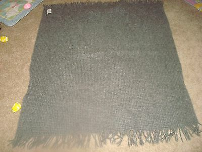 JC Penney Wool Grey Lap Blanket  Home Collection