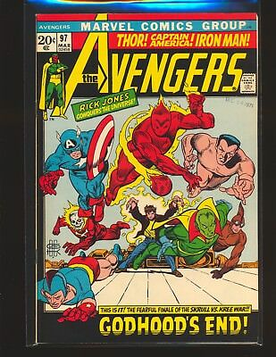 Avengers # 97 VF Cond.