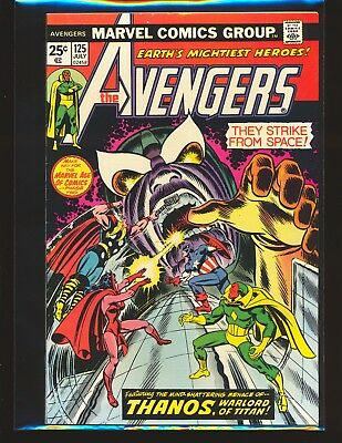 Avengers # 125 - Thanos appearance VF+ Cond.