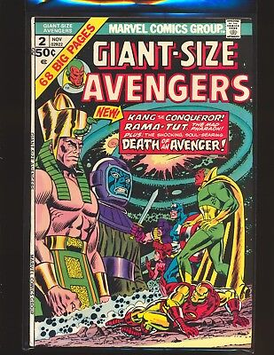 Giant-Size Avengers # 2 VF Cond.