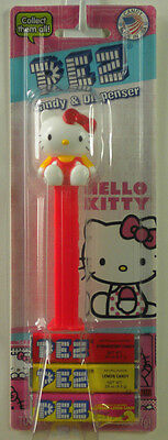 PEZ HELLO KITTY Full Body w/ Red Bow Candy Dispenser New on Card (B)
