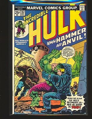 Incredible Hulk # 182 - 3rd Wolverine Fine/VF Cond. Marvel Value Stamp intact