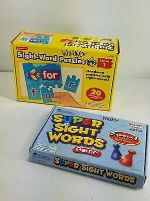 Lot Of 3 Educational Games Sight Words, Super Sight Words, And What Comes Next