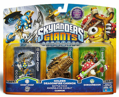 SKYLANDER  GIANTS  Dragonfire  Cannon   battle pack