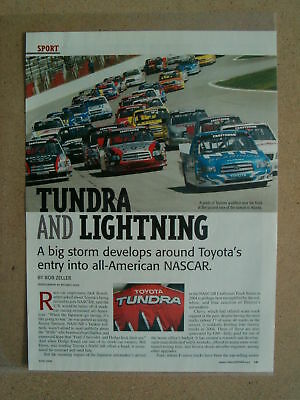 2004 Toyota Tundra Nascar Race ***original  Article