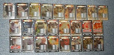 Dr Doctor Who Battles in Time ULTIMATE MONSTERS Complete RARE 25 Card Set - VGC