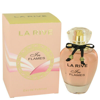 La Rive In Flames by La Rive Eau De Parfum Spray 3 oz/90 ml Women