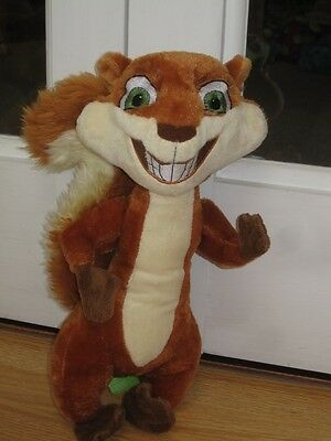 """Over The Hedge Hammy 13"""" Plush Soft Toy Squirrel"""