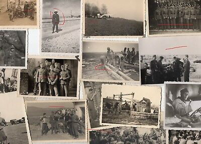 WWII Wehrmacht 15 photos allemandes lot divers 100% Orig WK2  2