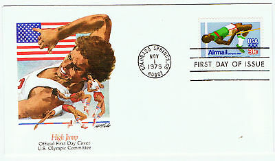 United States #C97 1979 31 cent High Jumper Olympic Games CFDC Unused