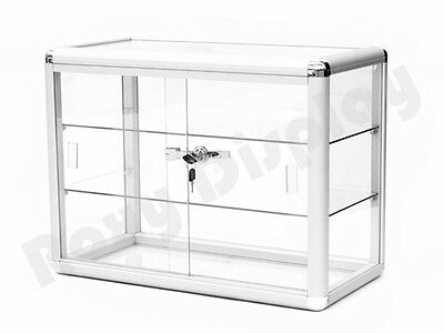Glass Countertop Display Case Store Fixture Showcase #SC-KDTOP