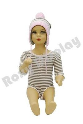 Child Plastic Realistic Mannequin Dress Form Display #PS-KD-10