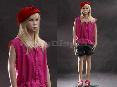Child Fiberglass Mannequin Dress Form Display #MZ-SK02