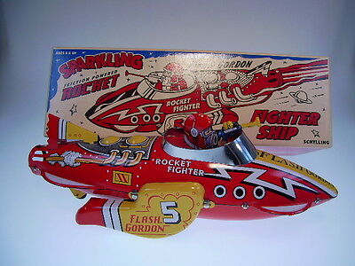 "Gscom, Flash Gordon ""rocket Fighter Ship"" Fr Ok, Neuwertig/like New In New Box"