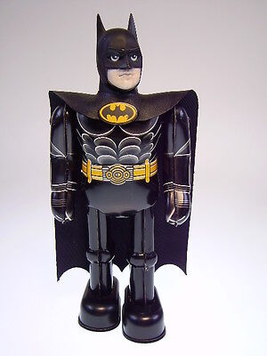 "GSR ROBOT, GSCOM  ""MECHANICAL BATMAN""  BILLIKEN  22cm, NEARLY NEU/NEW/NEUF  !"