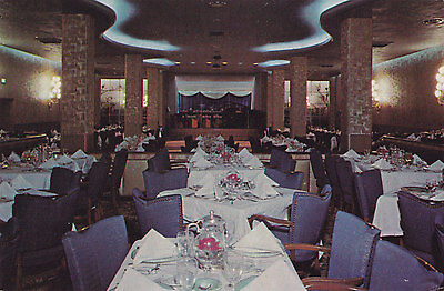 Jung Hotel Cotillion Room NEW ORLEANS Louisiana U.S.A. Postcard