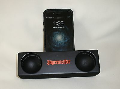 Jagermeister Cell Phone Mobile Wood Music Amplifier