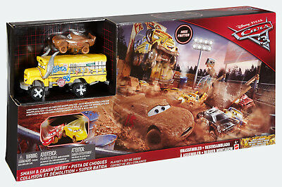 Mattel - Cars 3 - Cooles Crash-Derby Spielset, Neu, Ovp, DXY95