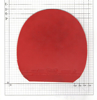 USED Sheet of Butterfly Super Anti Red 1.5mm
