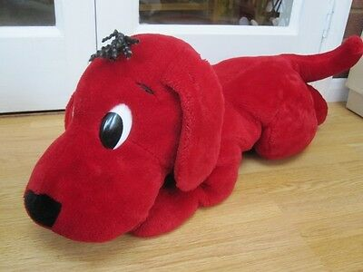 """Clifford The Big Red Dog Very Large 26"""" Soft Toy Tv Character"""