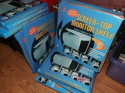 wholesale job lot of 14 x SCREEN TOP TV / CRT MONITOR SHELF * new, boxed