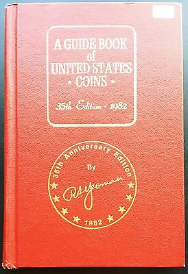 Vintage R.S. Yeoman Red Guide Book of United States Coins, 35th Edition, 1982
