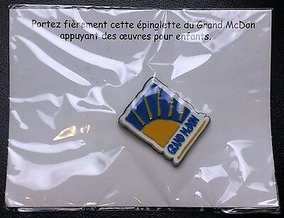 McHappy Day Collector's Pin - SEALED