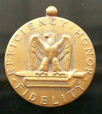 World War Ii Medal For Good Conduct - Efficiency, Honor, Fidelity - B1D28