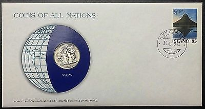 Coins of all Nations Series - 1978 Iceland 10 Kronur - Sealed in COA Card - BU