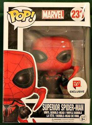 SUPERIOR SPIDER-MAN #233 Marvel Universe Funko Pop! WALGREENS EXCLUSIVE!