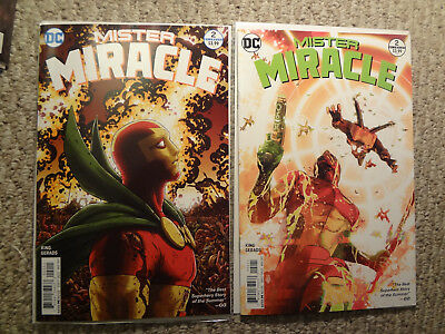 Mister Miracle #2 1St Prints Reg And Variant  Red Hot Comics