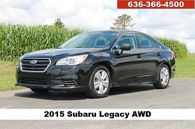 2015 Subaru Legacy 2.5i 2015 2.5i Used 2.5L H4 16V Automatic AWD Sedan
