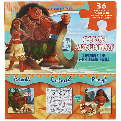 Moana 2 In 1 Jigsaw Puzzle, Toys & Games, Brand New