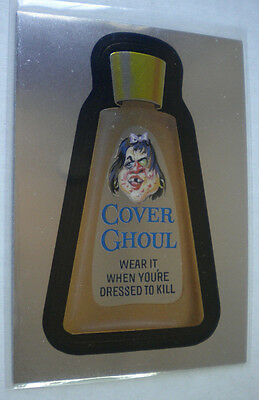 2014 Wacky Packages Chrome Series #29 COVER GHOUL