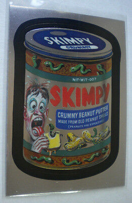 2014 Wacky Packages Chrome Series #42 SKIMPY