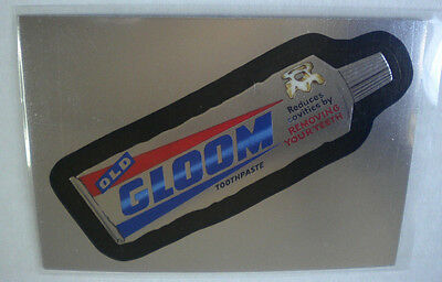 2014 Wacky Packages Chrome Series #63 GLOOM