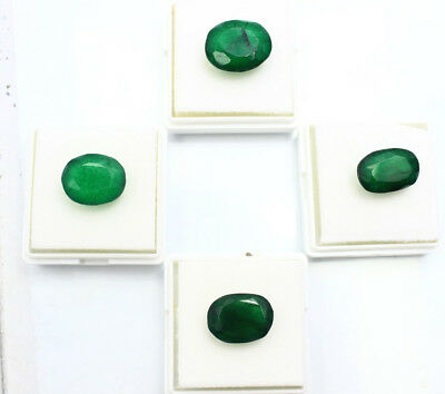46.25Ct Certified Natural Beautiful Oval Cut Colombian Emerald Gems  C-204