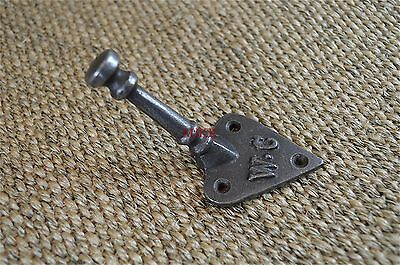 An Arts & Crafts WC coathook bathroom coat hook  towel hook cast iron hanger
