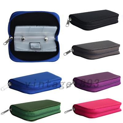 Useful 22 Slots CF SD XD MS Card Carrying Storage Pouch Case Holder Wallet Bag