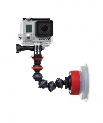 JOBY Suction Cup with GorillaPod Arm for Go-Pros and Action Sports Cameras NEW