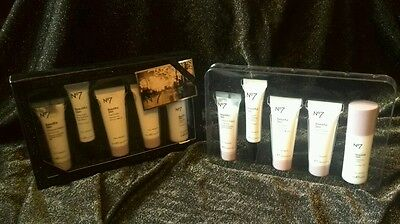 No7 Skincare FACE CARE PAMPER GIFT SET night/day/eye cream NEW BNIB